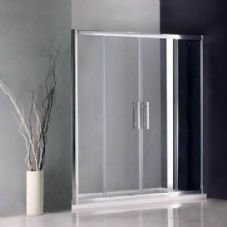 Crown 1400mm Double Sliding Shower Door